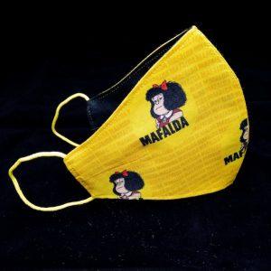 Mascarilla Mafalda amarilla